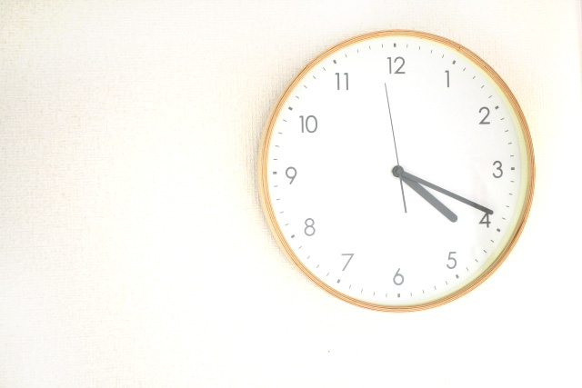 1回の施術時間はどれくらい?